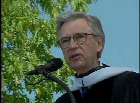 Fred Rogers at Dartmouth 2002